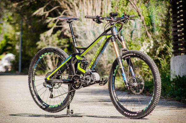 motor for mountain bike