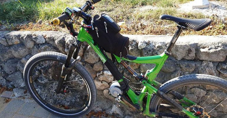 sac moto pour batterie