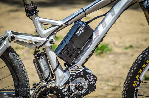 kit lift mtb with frame battery