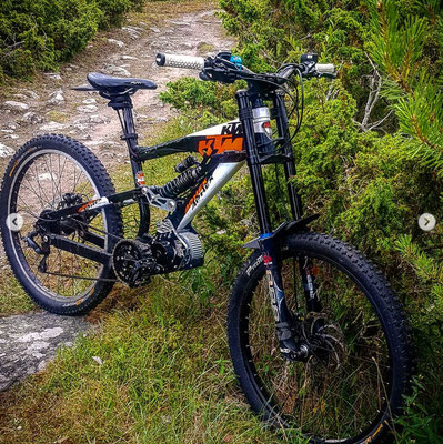 bafang ktm bike