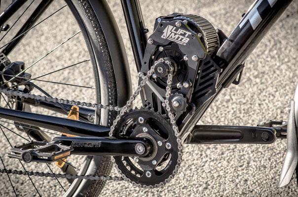 moteur electrique amovible pour vélo de ville