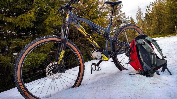electric motor snow bike