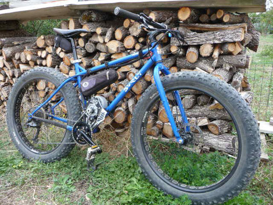 fat bike mtb with motor