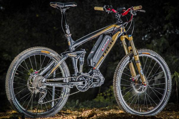electric mountain bike battery