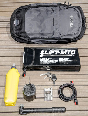 10 liter large battery bag
