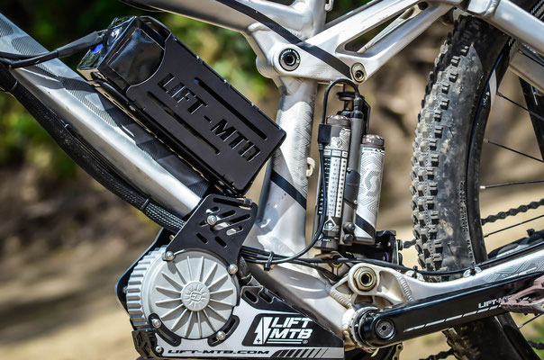 support aluminium pour batterie vae