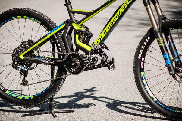 motor for mountain bike vtt