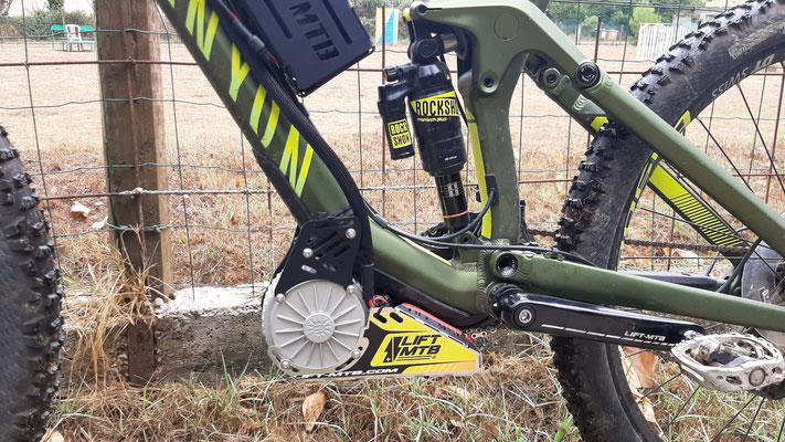 canyon motor bike kit