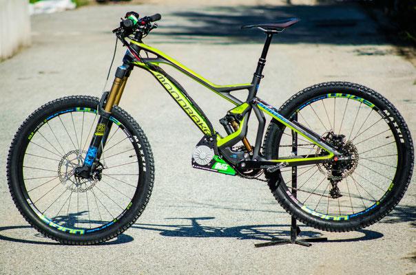 motor for e-mountain bike