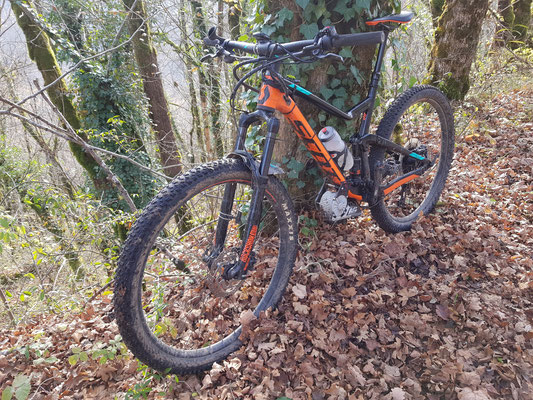 fast electric mountain bike kit