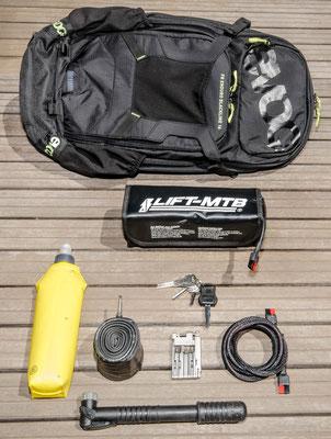 16 liter small battery bag