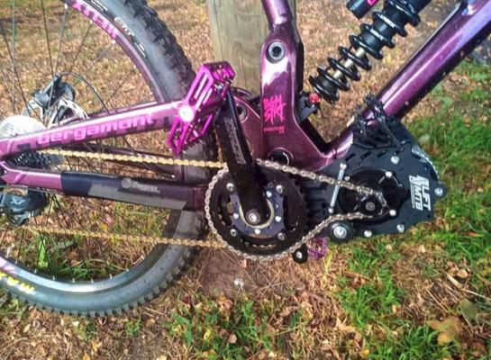 dh bike motor