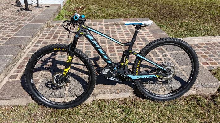 scott electric bike motor