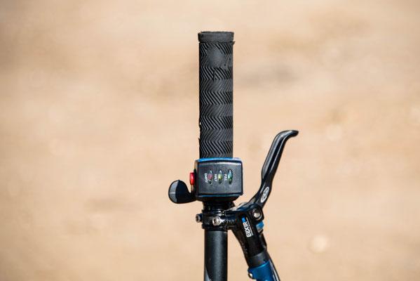 grilletto elettrico per mountain bike