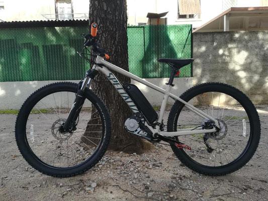 e-bike kit hard trail