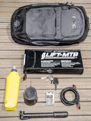 Borsa batteria grande da 10 litri
