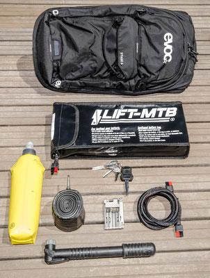 6 liter large battery bag
