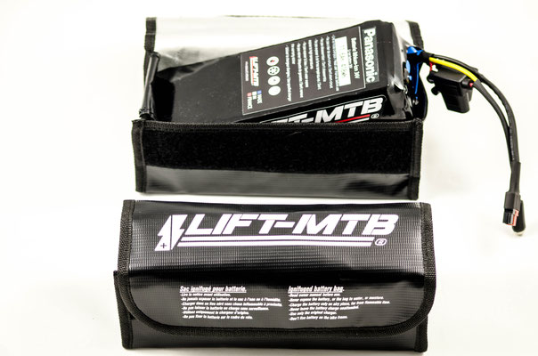 Batterie sac vtt électrique