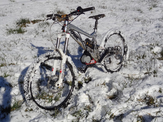 mtb electric bike snow