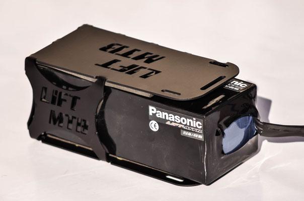 portabatterie per bici elettrica lift mtb li-ion