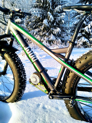fat bike electric motor