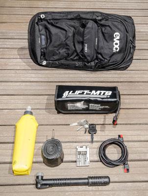 6 liter small battery bag