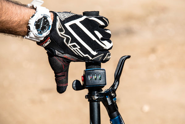 acceleratore del pollice della mountain bike elettrica