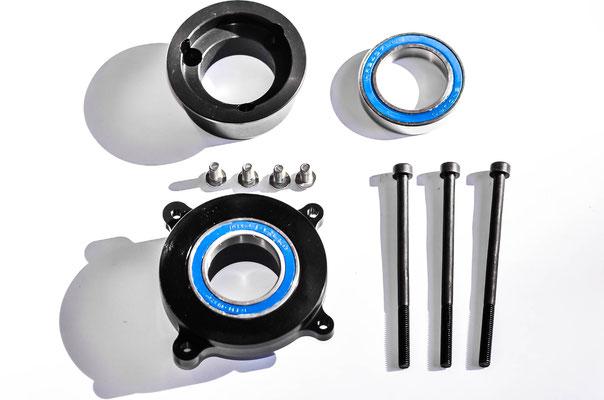 montage moteurs électriques pour vtt bb92 / 41mm