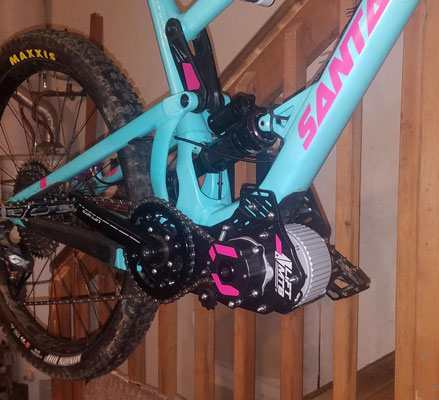 e-bike motor for santa cruz