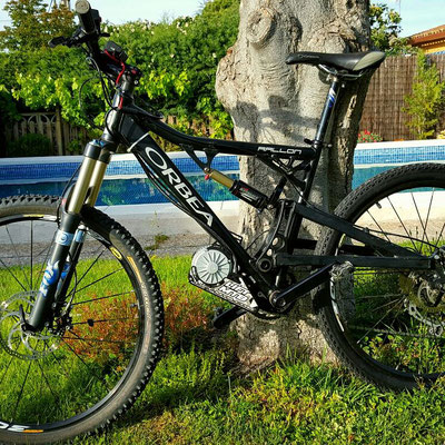 electrique bike orbea