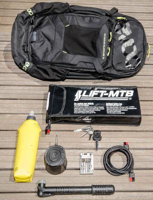 16 liter large battery bag