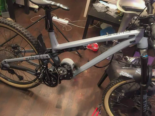 electric bike motor commençal meta