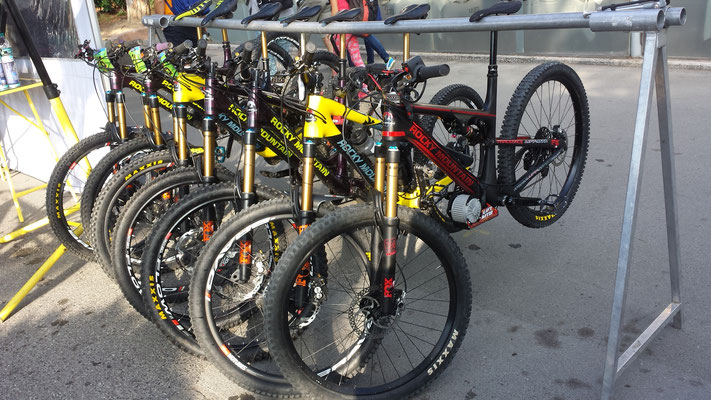 EWS electric bicycle , enduro world series e-bike
