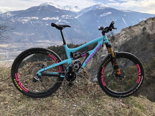 santa cruz e-bike