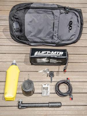 10 liter small battery bag