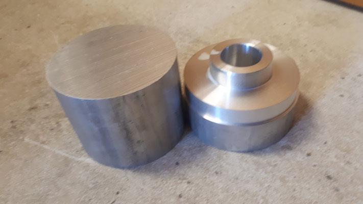 aluminium bloc