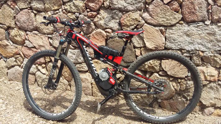 e-motor electric mountain bike kit