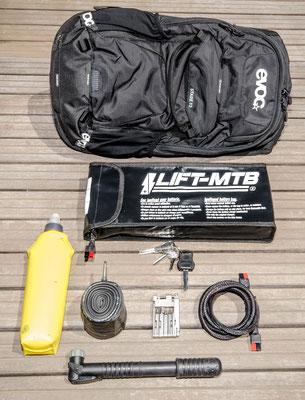 12 liter large battery bag