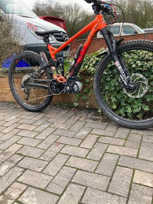 e-bike motor bike
