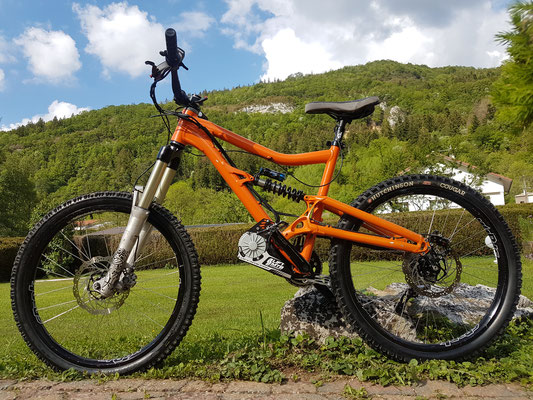 santacruz e-bike kit