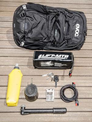 12 liter small battery bag