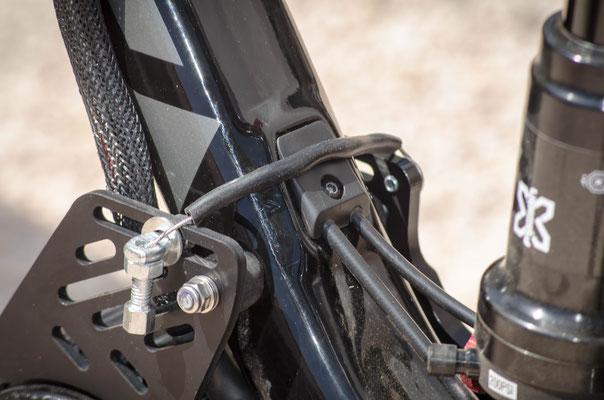 electric motor bike kit cable lock