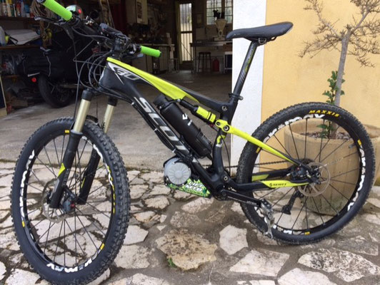 scott xcountry electrique