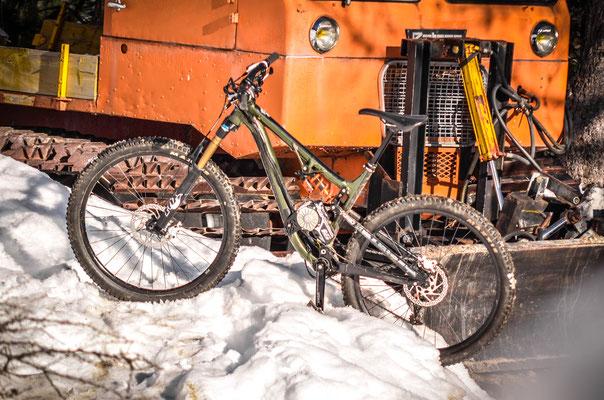 e-bike snow