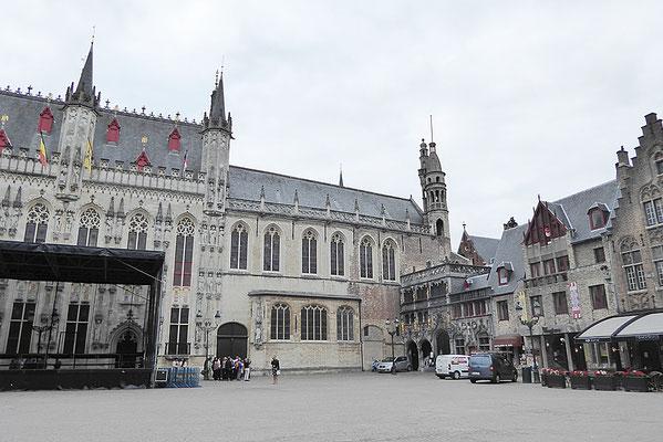 City Hall im Stadtzentrum - Ort der sehr feierlichen Eröffnungsfeier