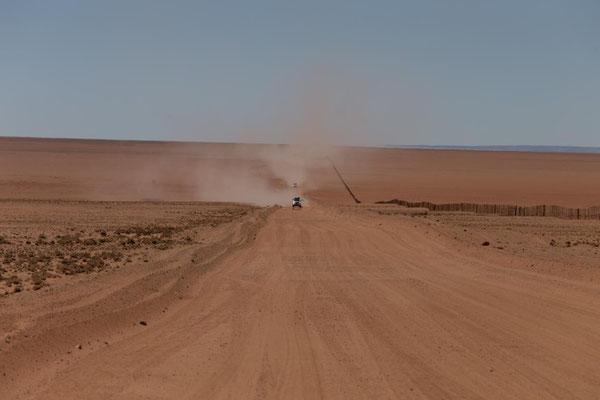 am Weg nach Lüderitz