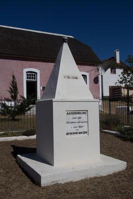 Elim - Denkmal Sklavenbefreiung