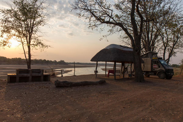 WildLife Camp am Luangwa River