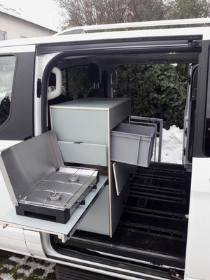 Küchenblock (herausnehmbar) - Kochen außen