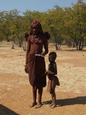 im Kaokoveld - Land der Himbas